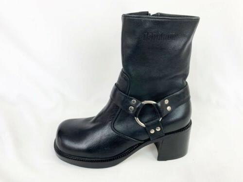 boots 7 back leather motorcycle biker
