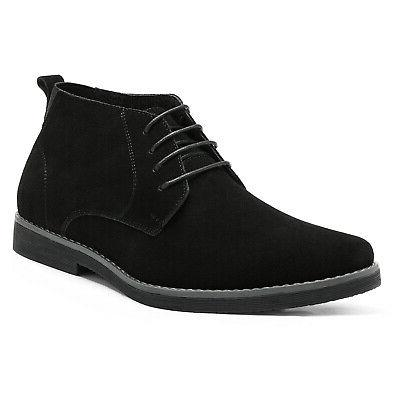 Bruno Marc Mens Chukka Suede Leather Lace Up Classic Desert