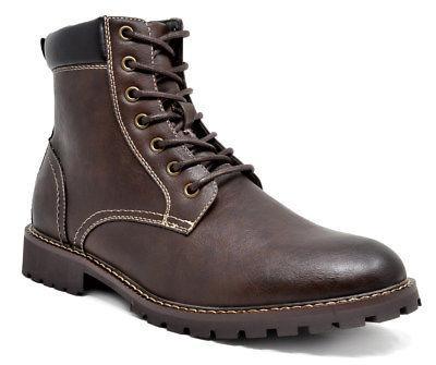 Bruno Marc Men Fur Boots