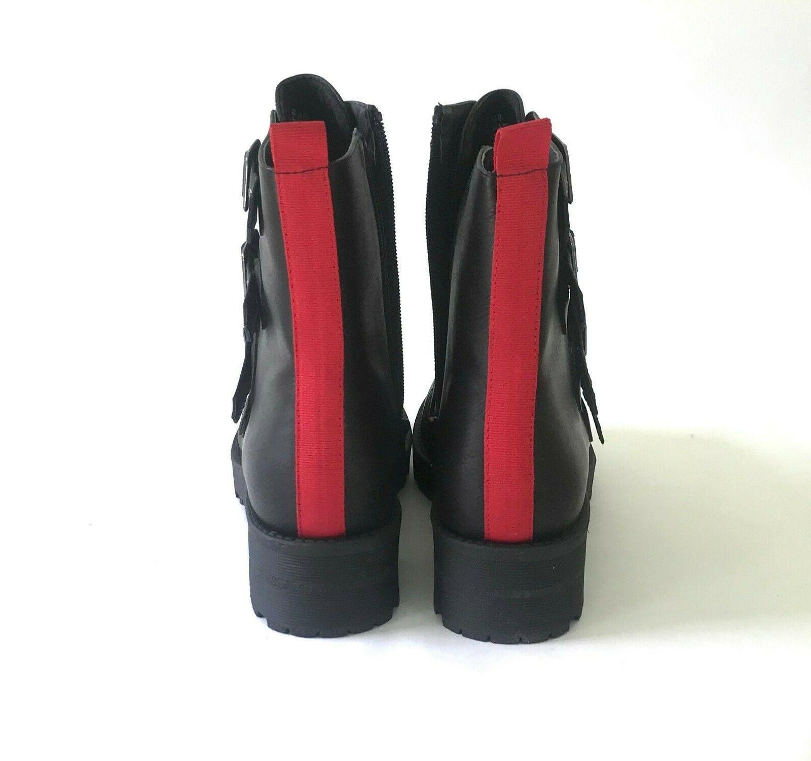 MIA Chelsey Women's Motorcycle Boots Black