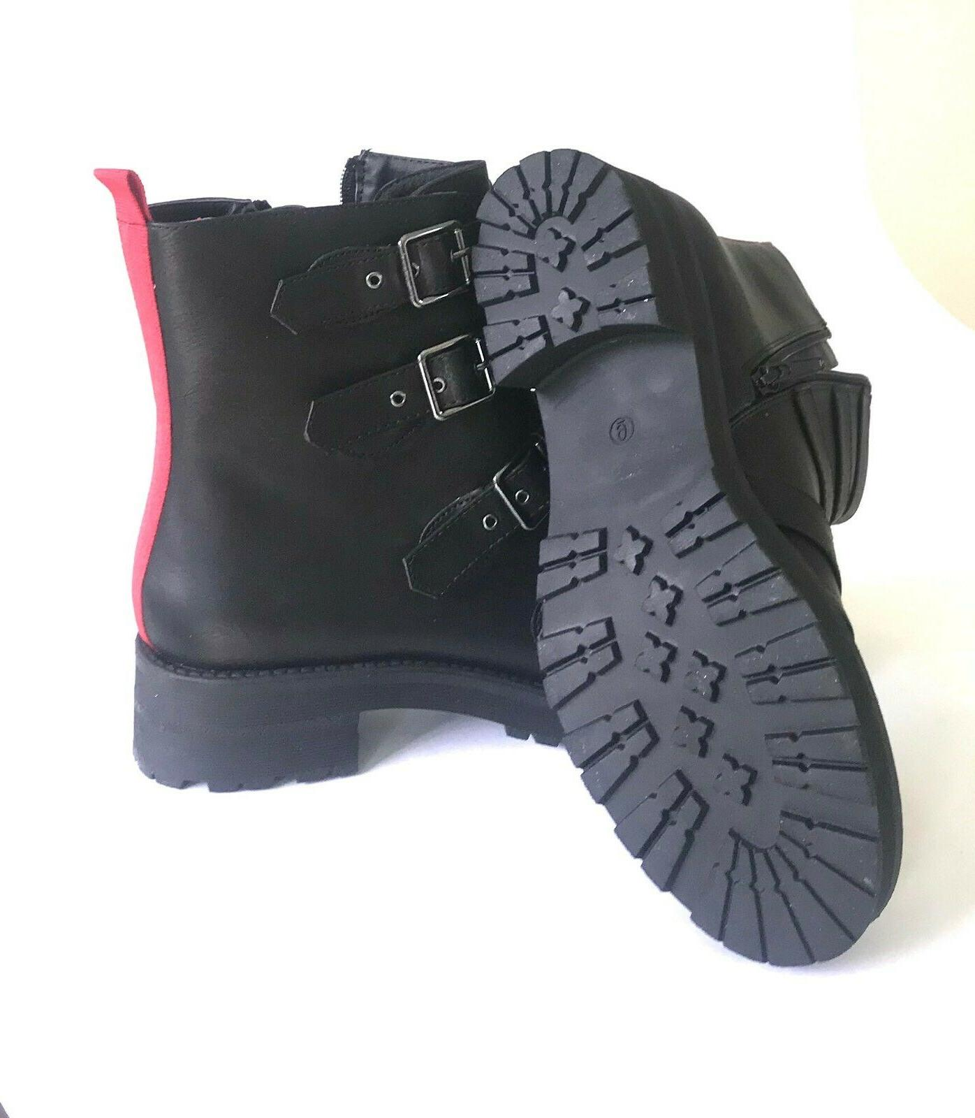 MIA Chelsey Combat Motorcycle Zip Black size
