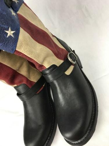 Durango Patriotic Flag SoHo Engineer Boots