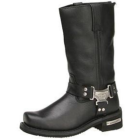 classic harness leather boots
