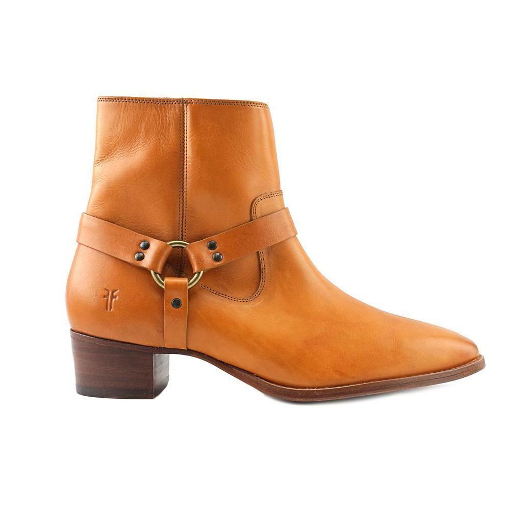 dara harness short boots women round toe