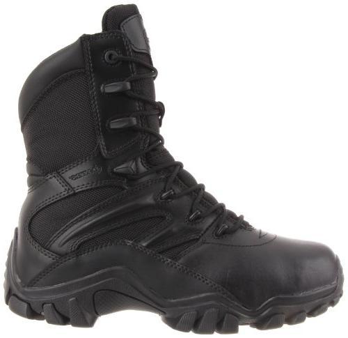 Bates Men's Delta-8 Zip Boot,Black,7 US