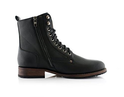 Ferro Aldo Men's Dual and Classic Black,