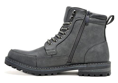 Bruno Men's Grey Combat US