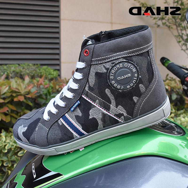 SHAD Wear Motorbike Riding <font><b>Boots</b></font> Street Breathable <font><b>Boots</b></font>