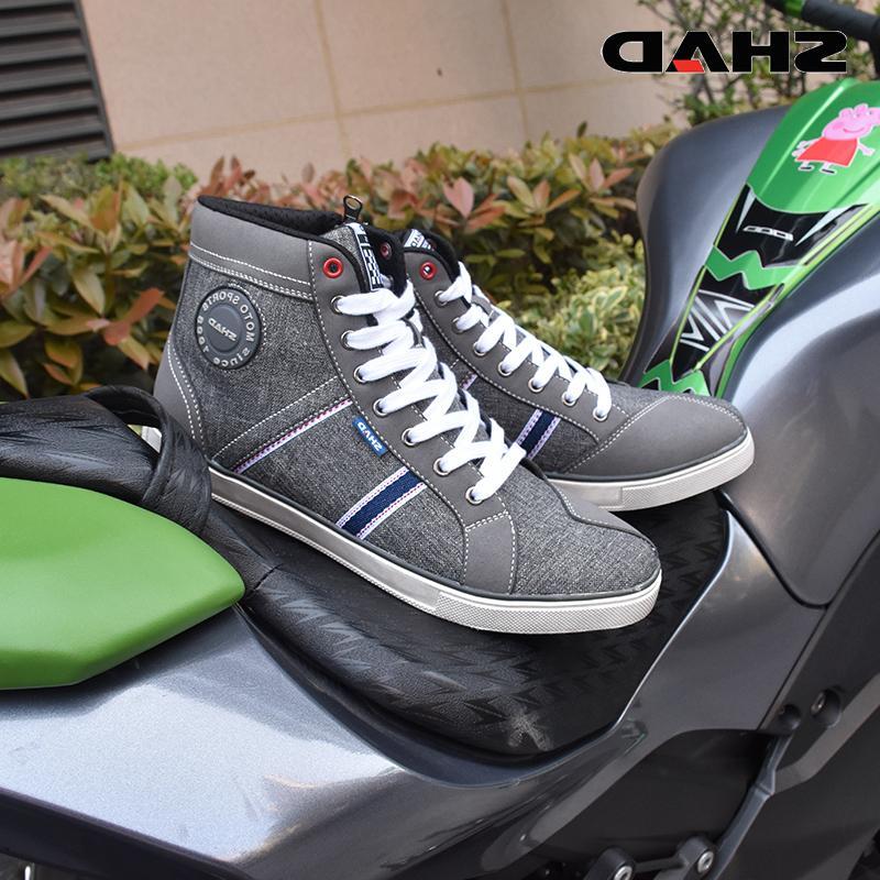SHAD Fashion Wear Motorbike <font><b>Boots</b></font> Racing <font><b>Boots</b></font> Breathable <font><b>Boots</b></font>
