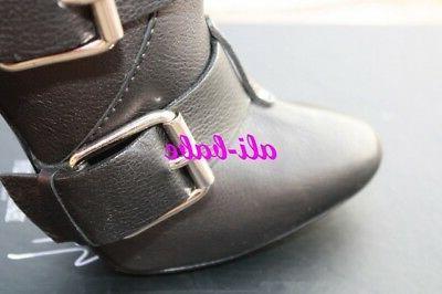 Giuseppe Zanotti Multi Buckle Boots 36.5 NIB