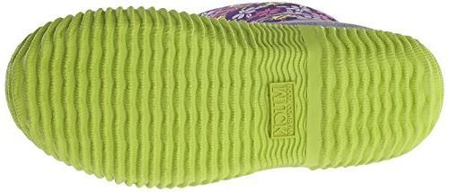 Muck Boot Hale Multi-Season Kids' Rubber Boot,Purple Frogs,7 M Big Kid
