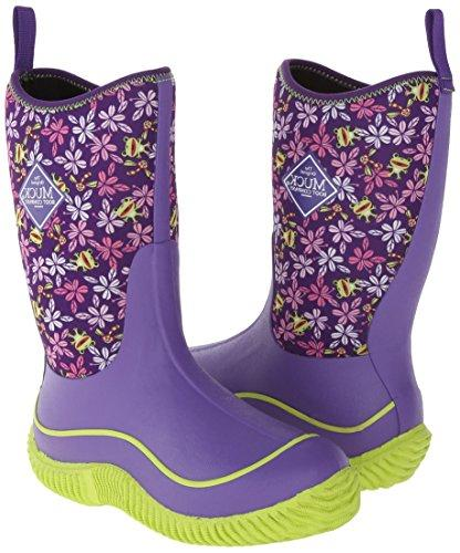 Muck Kids' Rubber Boot,Purple M