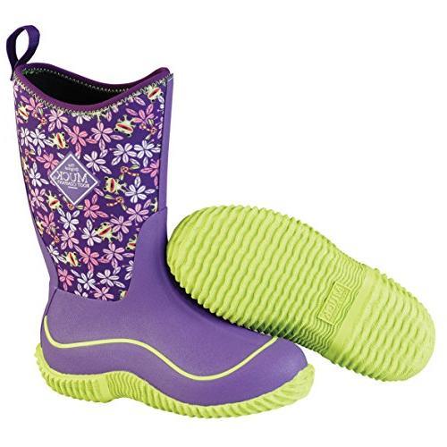 hale multi season kids rubber boot purple