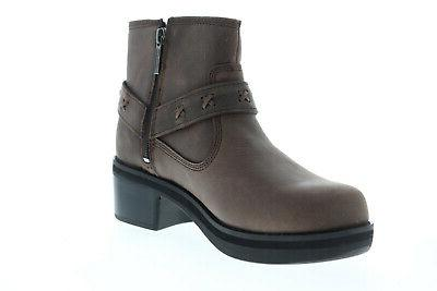 Harley-Davidson Adena D84461 Womens Brown Boots Shoes