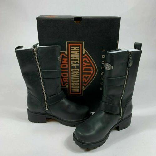 Harley Davidson Ardsley Leather Riding Boots US