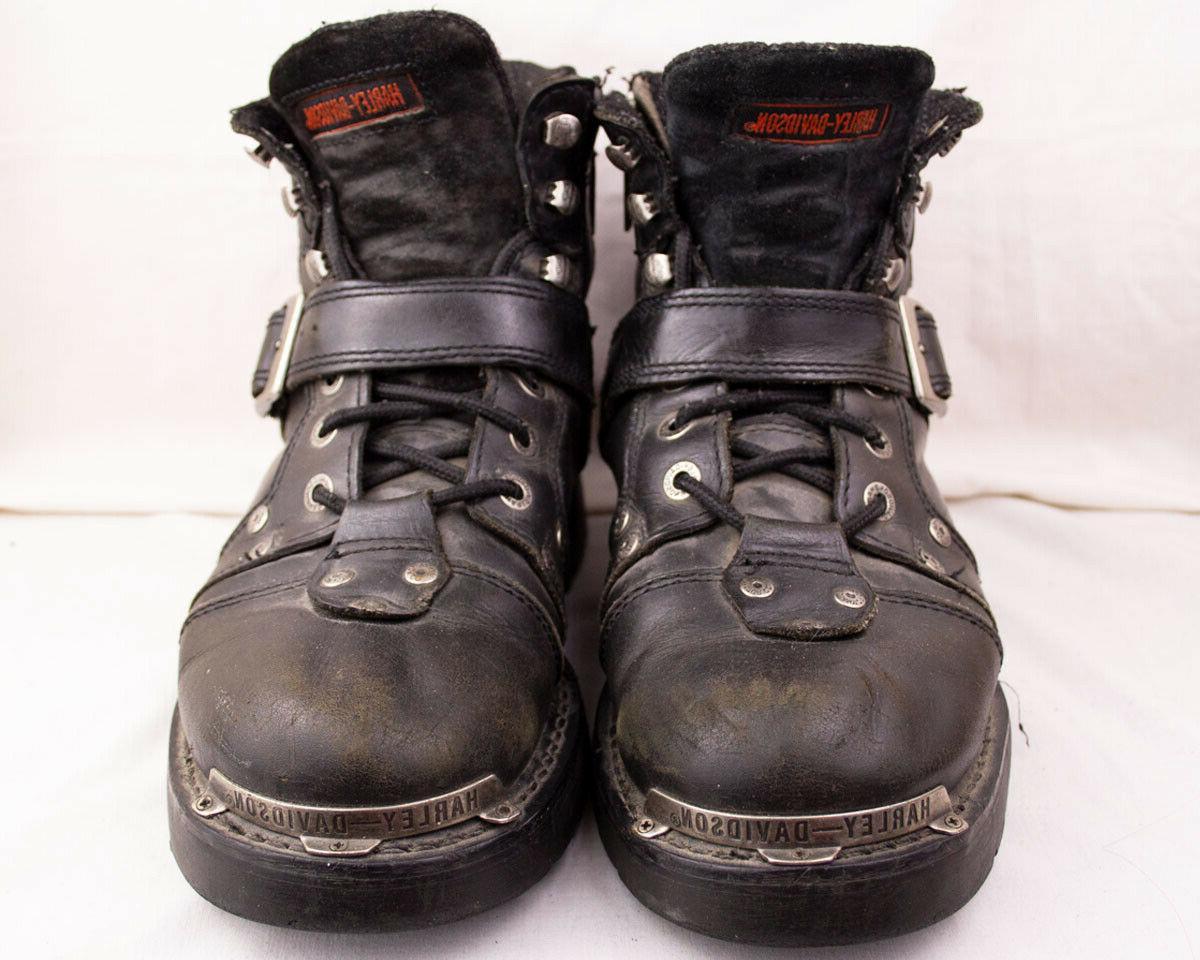 Harley Baker Boots Mens 9.5 Black High