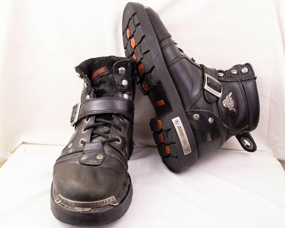Harley Davidson Baker Boots Style D96083 9.5 Black