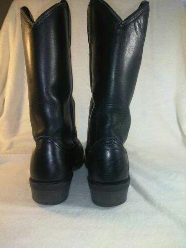 Harley Cowboy Motorcycle Boots Size
