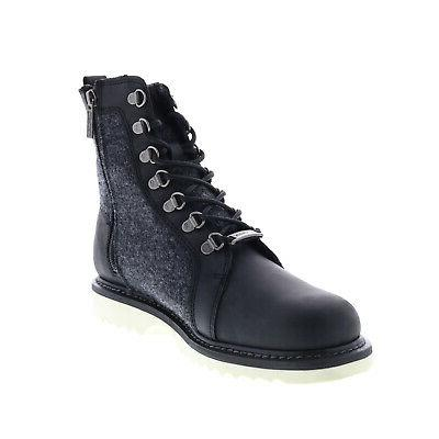 Harley-Davidson Bryant Black Leather Motorcycle Boots