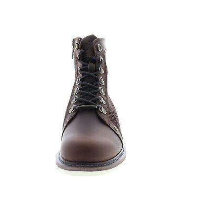 Harley-Davidson Bryant Brown Leather Motorcycle Boots