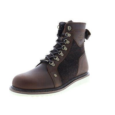 harley davidson bryant d93632 mens brown leather