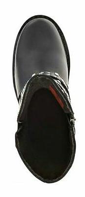 HARLEY-DAVIDSON FOOTWEAR Women's Black Leather Boots D87027