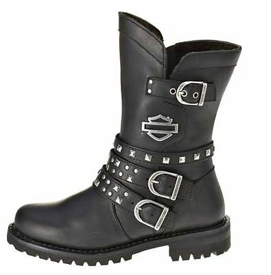 harley davidson footwear women s adrian black