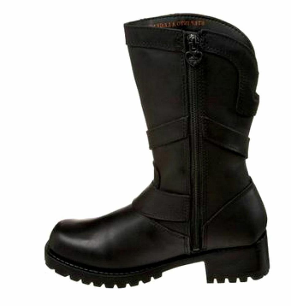 HARLEY-DAVIDSON Women's Amber Black Leather D85514