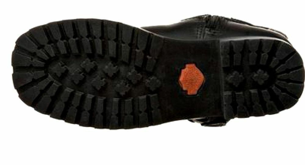 HARLEY-DAVIDSON FOOTWEAR Black Leather D85514