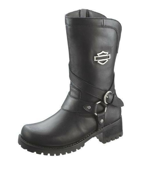 harley davidson footwear women s amber black