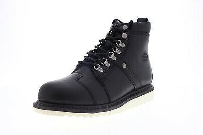 harley davidson hickman d93586 mens black leather
