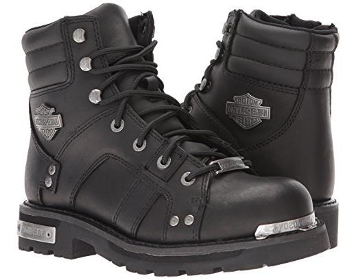 Harley-Davidson Men's Bonfield Motorcycle Boot, Black, US