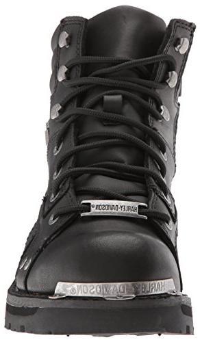 Harley-Davidson Bonfield Motorcycle Boot, Black, US