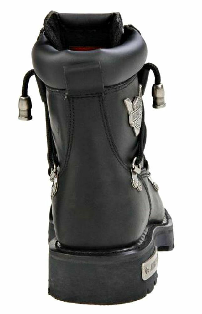 Harley-Davidson® Men's Black Leather Motorcycle Boots D91680