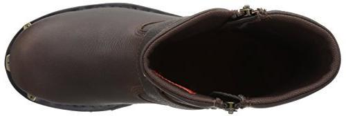 Boot, Brown, 10 Medium US