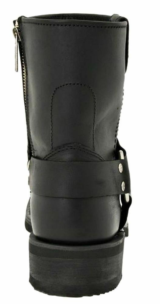 HARLEY-DAVIDSON Paso Harness Zip Leather Boots