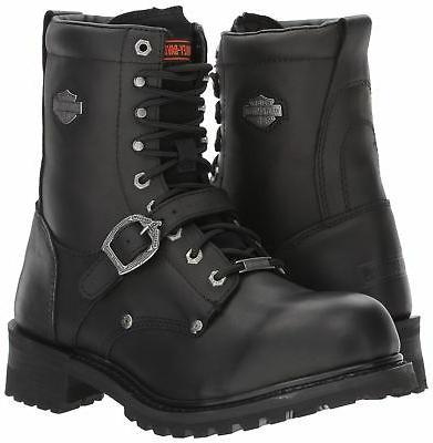 Harley-Davidson Men's Motorcycle Boot Black M