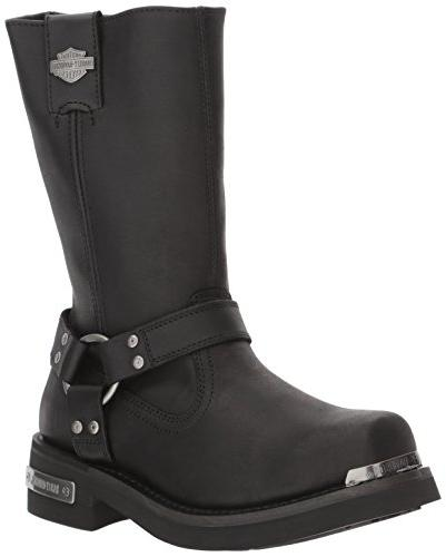 Harley-Davidson Men's Landon Motorcycle Boot, Black, 11.5 Me