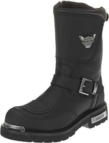 Harley-Davidson Shift Motorcycle Boot,Black,9 M US
