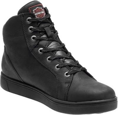 Harley-Davidson Black Leather Boots D93517