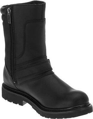 "Harley-Davidson 8.25"" Black Motorcycle Boots"
