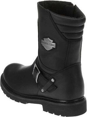 Harley-Davidson Booker Black Boots D95194
