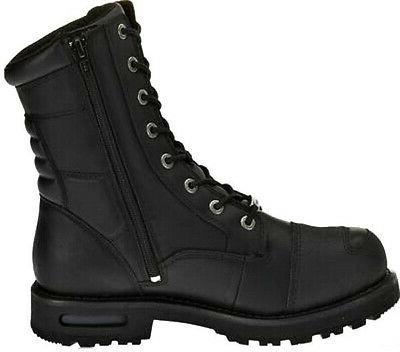 Harley-Davidson Lace-Up Black Boots