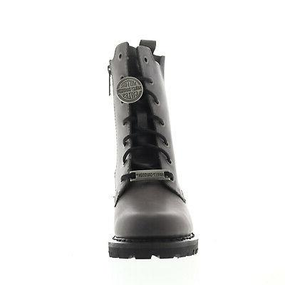 Harley-Davidson Gray Zipper Boots Shoes