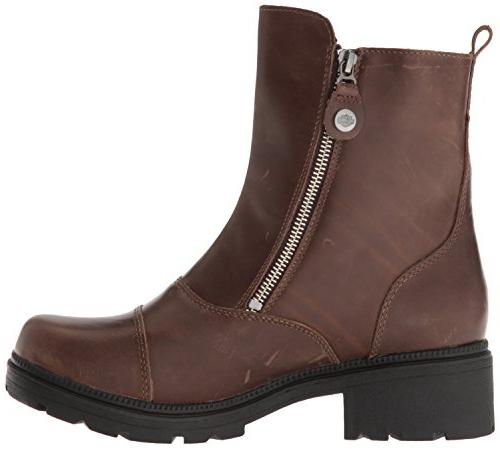 Harley-Davidson Women's Amherst Motorcycle Boot, US