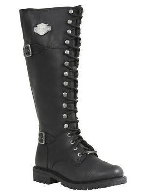 harley davidson women s beechwood motorcycle boots