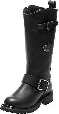 Harley-Davidson Women's Chalmers 12.5-Inch Motorcycle Boots