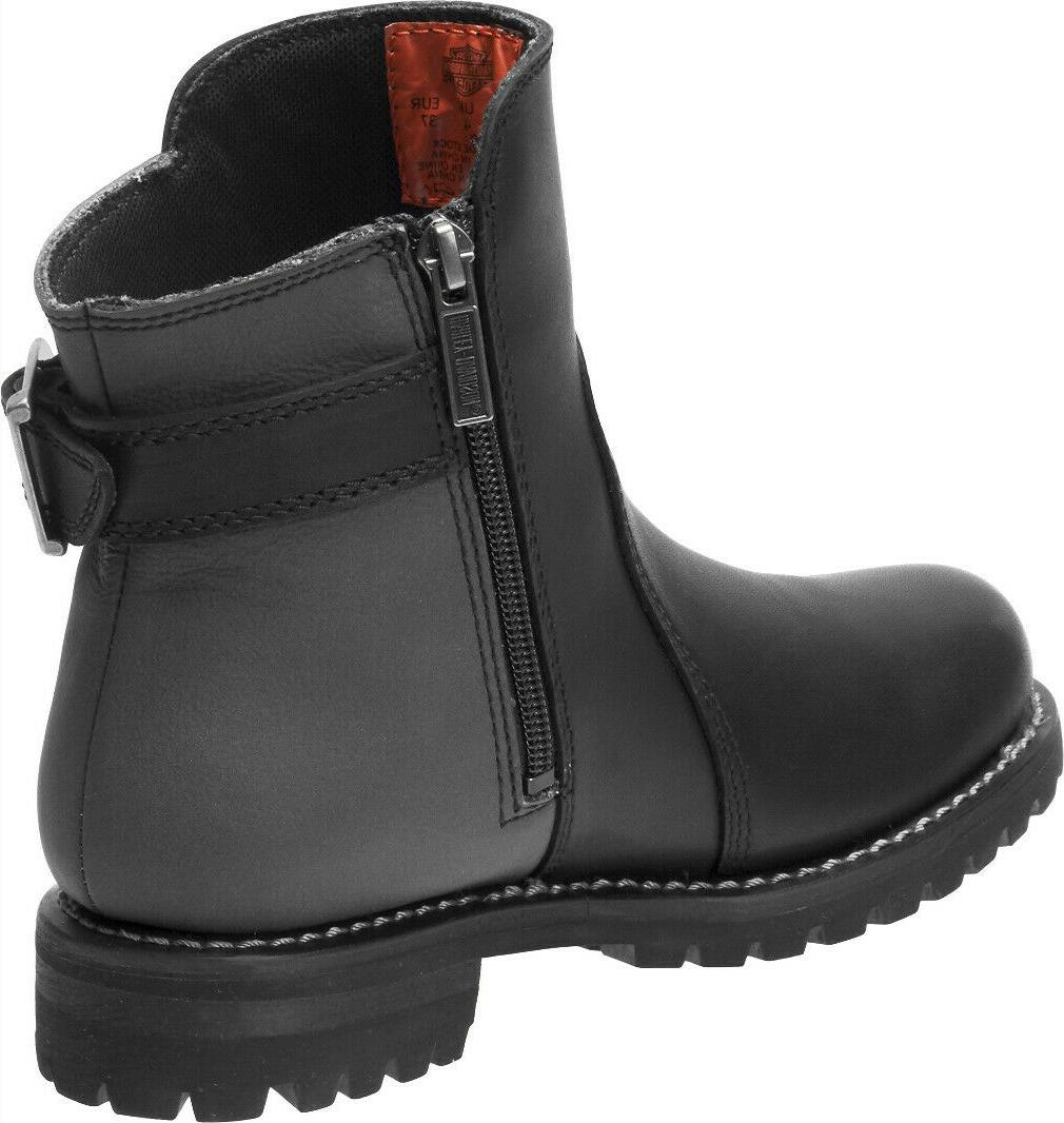 Harley-Davidson® Women's Black Leather Boots D87167
