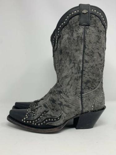 Harley-Davidson Boots Black Womens Size