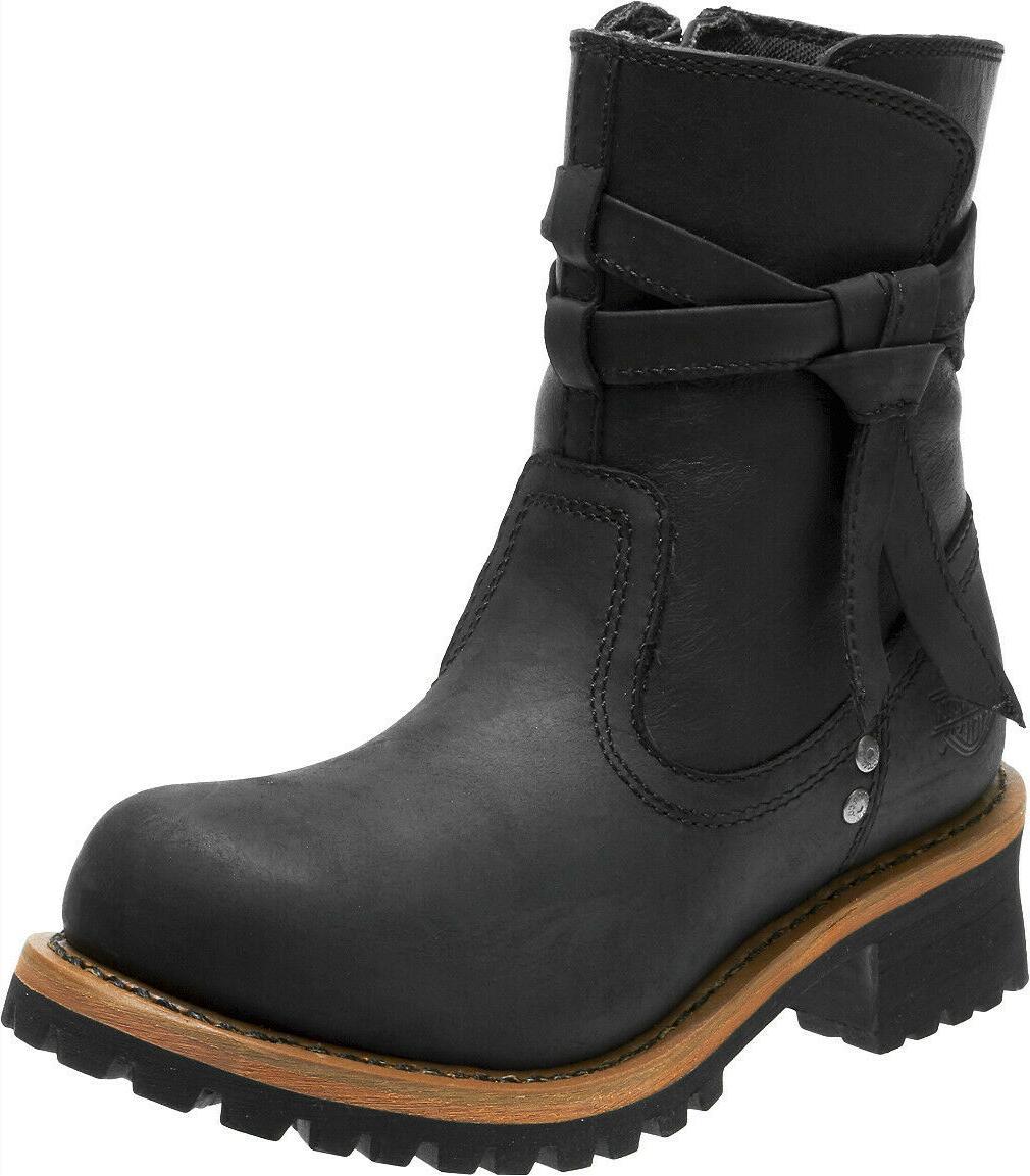 harley davidson women s mercer black leather